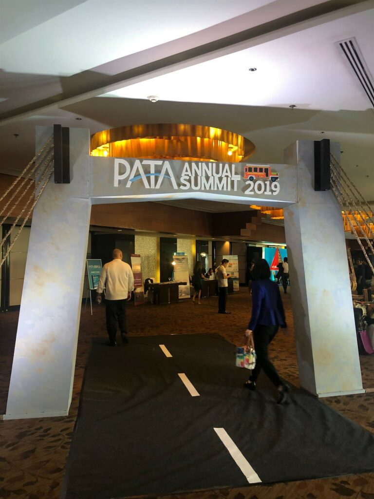 Picture of the entrance to the PATA Annual Summit 2019