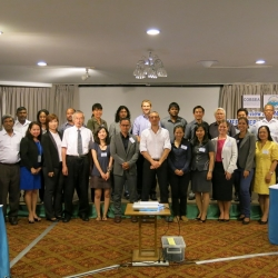 Picture of Reef-World with Green Fins partners at the international meeting in Bangkok.
