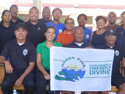 August 2017- Green Fins Palau: A New Country, A New Region