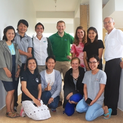 Picture of Reef-World with the new team of Green Assessors in Thailand.