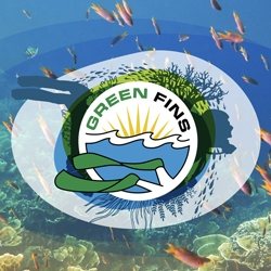 Picture of the Green Fins logo.