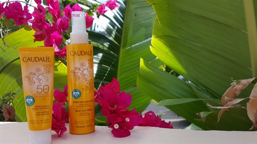 Picture of Caudalie reef-safe sunscreen.