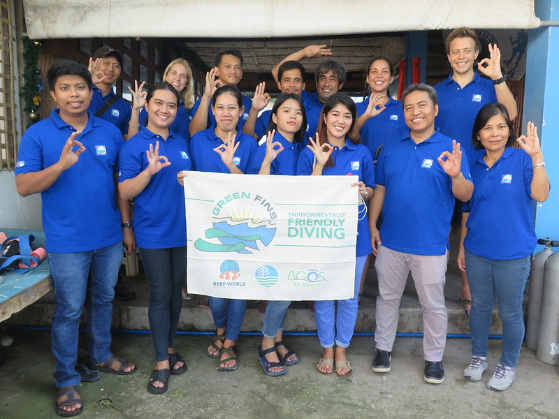 The Green Fins Philippines Team
