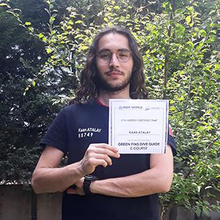 Kaan Atalay - Green Fins Dive Guide e-Course scholar