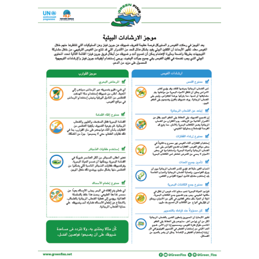 Environmental briefing guidelines (Arabic - عربى)