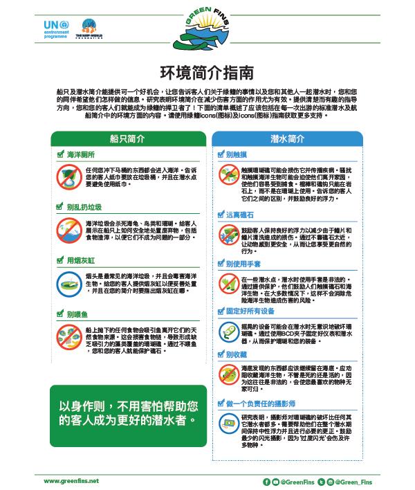 Environmental briefing guidelines (Simplified Chinese - 简体中文)