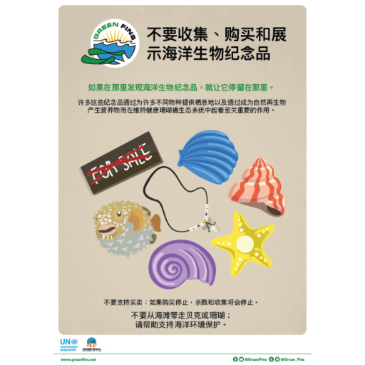 Marine Souvenirs poster (Simplified Chinese - 简体中文)