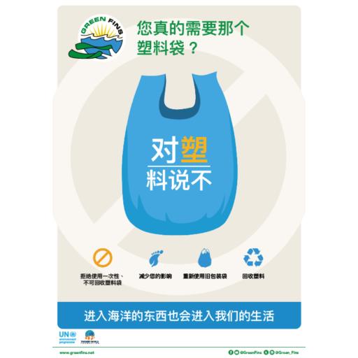 No Plastic (Simplified Chinese - 简体中文)