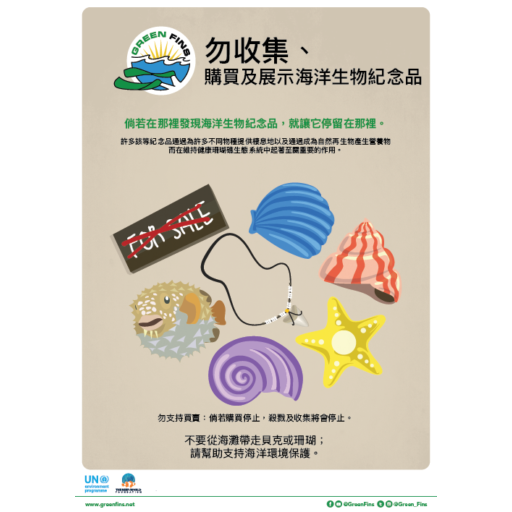Marine Souvenirs poster (Traditional Chinese - 繁體中文)