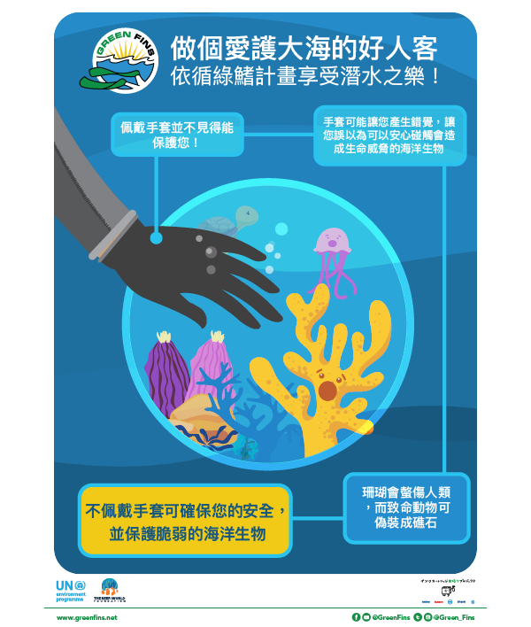 No Gloves (Traditional Chinese - 繁體中文)