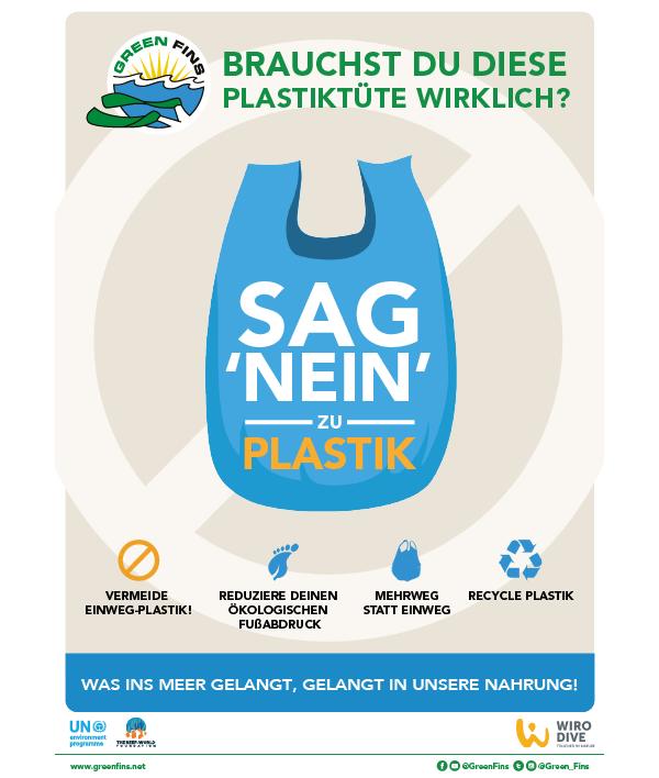 No Plastic (German - Deutsche)