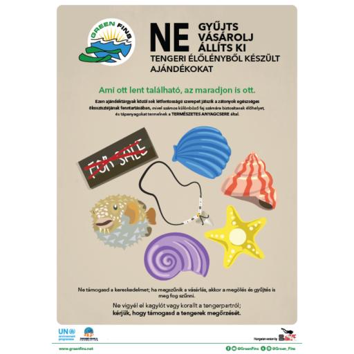 Marine Souvenirs poster (Hungarian - Magyar)