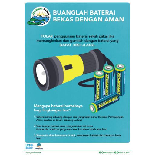Battery Poster (Indonesian - Bahasa Indonesia)