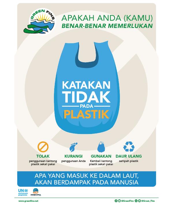 No Plastic (Indonesian - Bahasa Indonesia)