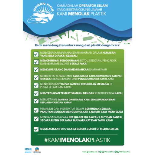 Plastics Checklist (Operator) (Indonesian - Bahasa Indonesia)