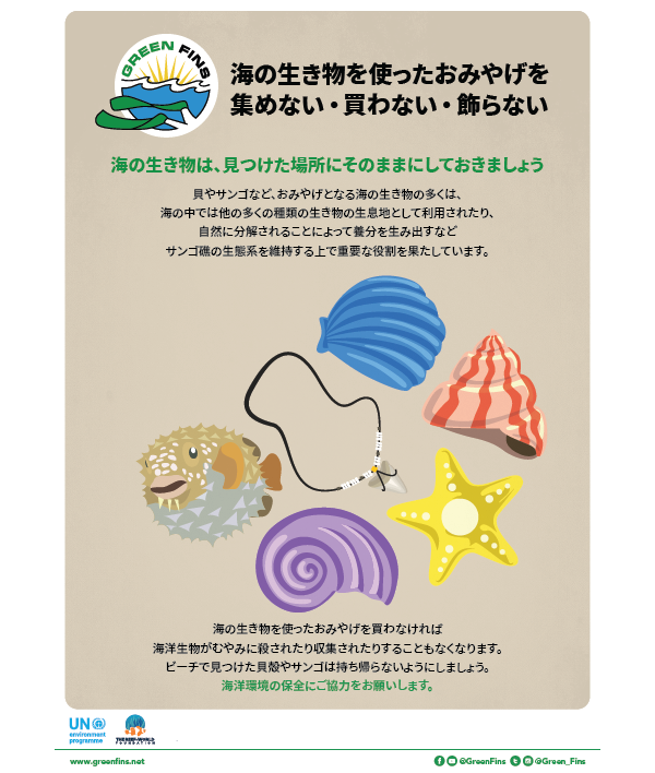 Marine Souvenirs poster (Japanese - 日本人)