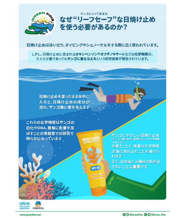 Sunscreen Infographic (Japanese - 日本人)