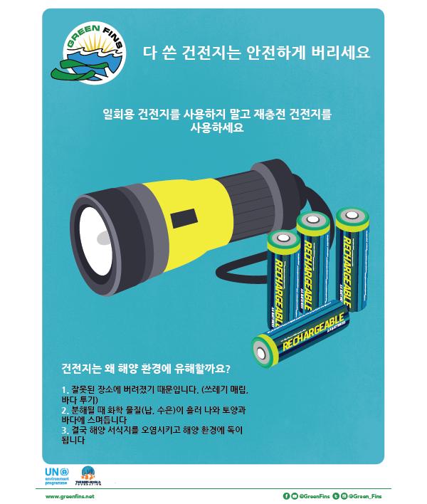 Battery Poster (Korean - 한국어)
