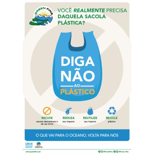 No Plastic (Portuguese - Português)